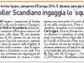 Carlino Reggio, 9 gennaio 2016