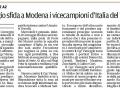 Gazzetta di Reggio, 3 gennaio 2016
