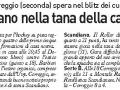 Carlino Reggio, 23 gennaio 2016