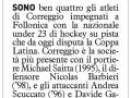 Carlino Reggio, 24 marzo 2016