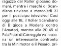 [C-REMSPO - 6]  CARLINO/GIORNALE/RES/04 ... 27/03/21